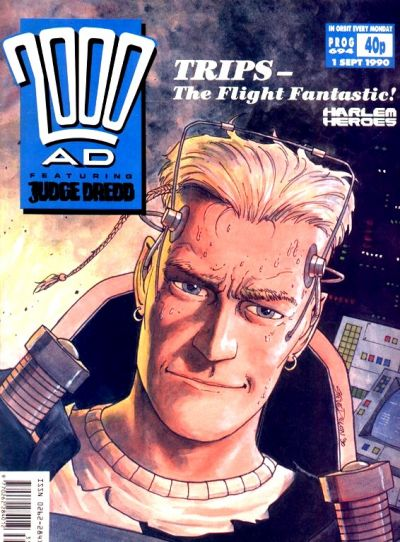 Cover for 2000 AD (Fleetway Publications, 1987 series) #694