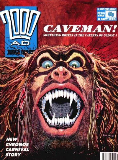 Cover for 2000 AD (Fleetway Publications, 1987 series) #695