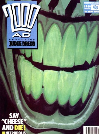 Cover for 2000 AD (Fleetway Publications, 1987 series) #696