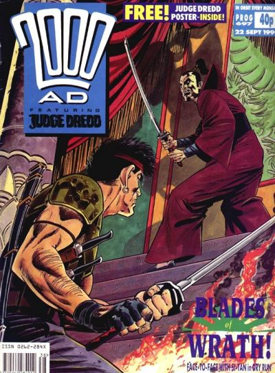 Cover for 2000 AD (Fleetway Publications, 1987 series) #697