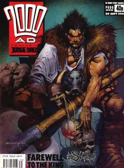 Cover for 2000 AD (Fleetway Publications, 1987 series) #698