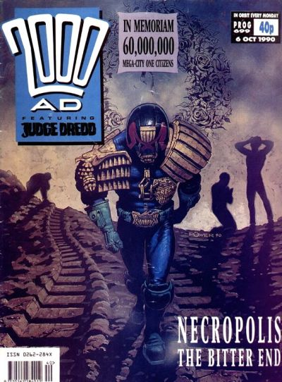 Cover for 2000 AD (Fleetway Publications, 1987 series) #699