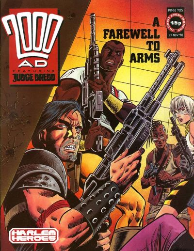 Cover for 2000 AD (Fleetway Publications, 1987 series) #705