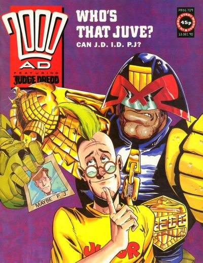 Cover for 2000 AD (Fleetway Publications, 1987 series) #709