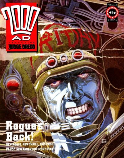 Cover for 2000 AD (Fleetway Publications, 1987 series) #712