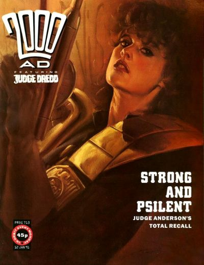 Cover for 2000 AD (Fleetway Publications, 1987 series) #713