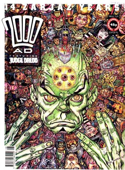 Cover for 2000 AD (Fleetway Publications, 1987 series) #719
