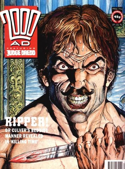 Cover for 2000 AD (Fleetway Publications, 1987 series) #741