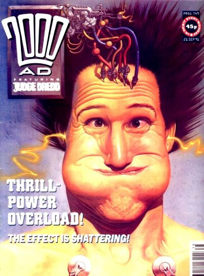 Cover for 2000 AD (Fleetway Publications, 1987 series) #749