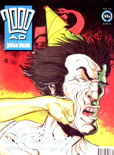 Cover for 2000 AD (Fleetway Publications, 1987 series) #759
