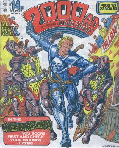 Cover for 2000 AD (IPC, 1977 series) #187