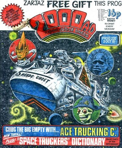 Cover for 2000 AD (IPC, 1977 series) #232