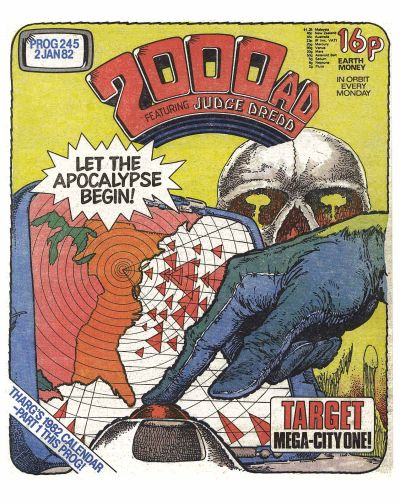 Cover for 2000 AD (IPC, 1977 series) #245