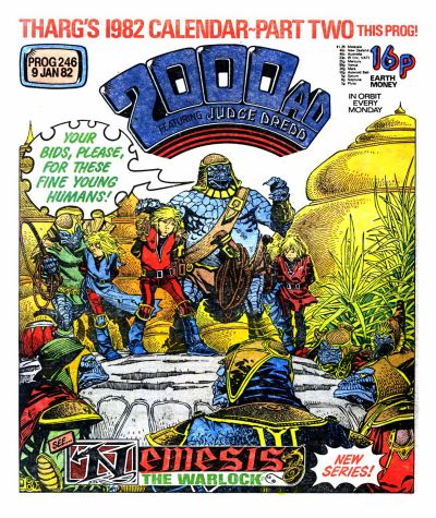Cover for 2000 AD (IPC, 1977 series) #246