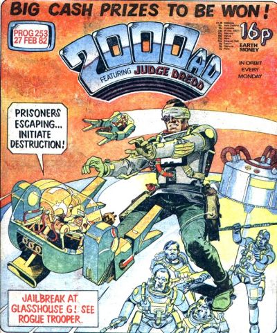 Cover for 2000 AD (IPC, 1977 series) #253