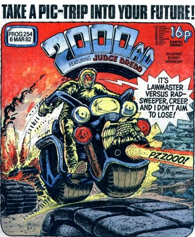 Cover for 2000 AD (IPC, 1977 series) #254