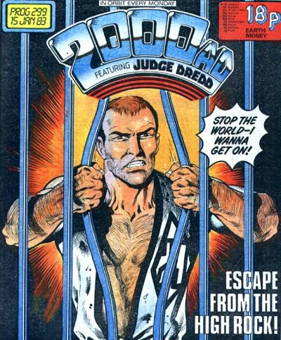 Cover for 2000 AD (IPC, 1977 series) #299