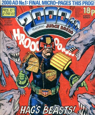 Cover for 2000 AD (IPC, 1977 series) #307