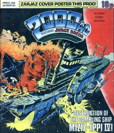 Cover for 2000 AD (IPC, 1977 series) #309