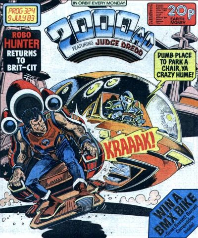 Cover for 2000 AD (IPC, 1977 series) #324