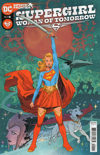 Cover Thumbnail for Supergirl: Woman of Tomorrow (DC, 2021 series) #1 [Bilquis Evely Cover]