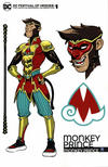 Cover Thumbnail for DC Festival of Heroes: The Asian Superhero Celebration (2021 series) #1 [Bernard Chang Monkey Prince Variant Cover]