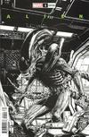 Cover for Alien (Marvel, 2021 series) #1 [David Finch Black & White Cover]