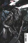 Cover for Alien (Marvel, 2021 series) #1 [Salvador Larroca Cover]