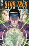Cover for Star Trek: Year Five (IDW, 2019 series) #21 [Regular Cover]