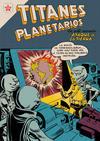 Cover for Titanes Planetarios (Editorial Novaro, 1953 series) #36