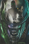 Cover for Alien (Marvel, 2021 series) #1 [Bird City Comics Exclusive - Greg Horn Cover B]