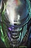 Cover for Alien (Marvel, 2021 series) #1 [Bird City Comics Exclusive - Greg Horn Cover C]