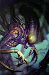 Cover for Alien (Marvel, 2021 series) #1 [Ryan Brown Virgin Cover]