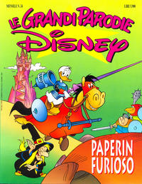 Cover Thumbnail for Le grandi parodie Disney (Disney Italia, 1992 series) #24