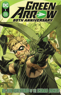Cover Thumbnail for Green Arrow 80th Anniversary 100-Page Super Spectacular (DC, 2021 series) #1