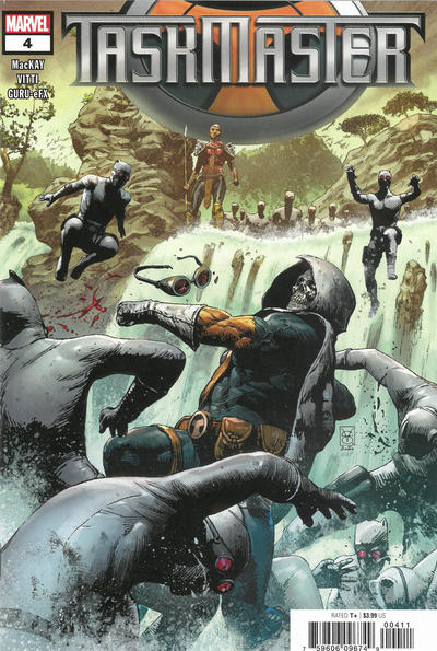 Cover for Taskmaster (Marvel, 2021 series) #4 [Cory Smith Cover]