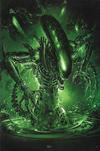 Cover for Alien (Marvel, 2021 series) #1 [Clayton Crain Cover C]