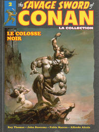 Cover Thumbnail for Collection the Savage Sword of Conan (Hachette, 2017 series) #2