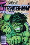 Cover for Web of Spider-Man (Marvel, 1985 series) #7 [Canadian]
