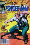 Cover for Web of Spider-Man (Marvel, 1985 series) #9 [Canadian]
