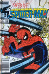 Cover for Web of Spider-Man (Marvel, 1985 series) #4 [Canadian]