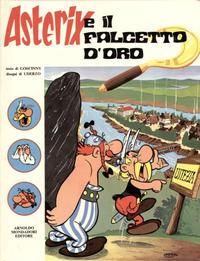 Cover Thumbnail for Un' avventura di Asterix (Arnoldo Mondadori Editore, 1968 series) #[8] - Asterix e il Falcetto d' Oro
