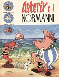 Cover Thumbnail for Un' avventura di Asterix (Arnoldo Mondadori Editore, 1968 series) #[9] - Asterix e i Normanni