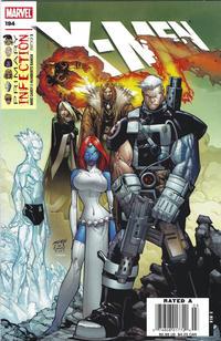 Cover Thumbnail for X-Men (Marvel, 2004 series) #194 [Newsstand]