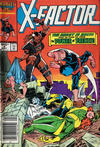 Cover for X-Factor (Marvel, 1986 series) #4 [Canadian]