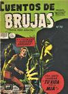 Cover for Cuentos de Brujas (Editora de Periódicos La Prensa S.C.L., 1951 series) #70