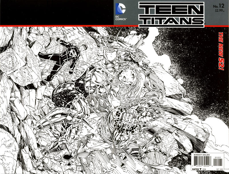 Cover for Teen Titans (DC, 2011 series) #12