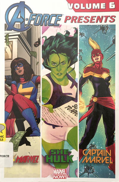 Cover for A-Force Presents (Marvel, 2015 series) #6