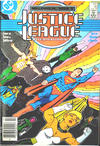 Cover for Justice League International (DC, 1987 series) #10 [Newsstand]