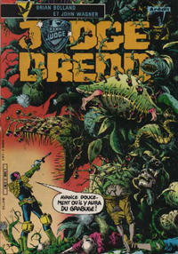 Cover Thumbnail for Judge Dredd (Arédit-Artima, 1984 series) #2